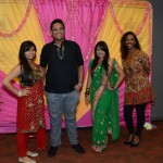 Staff were invited to work in traditional East Indian apparel.