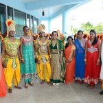 South Office staff and traditional actors with the Honourable Minister.