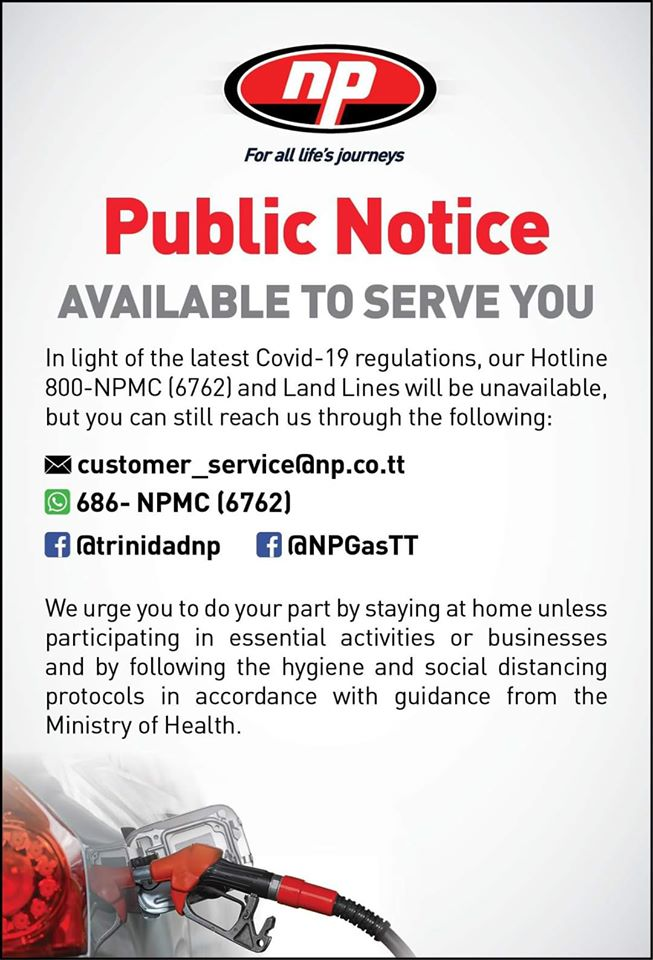 Public Notice- NP available to serve you